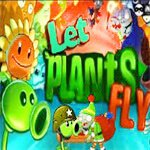 Angry plants fly